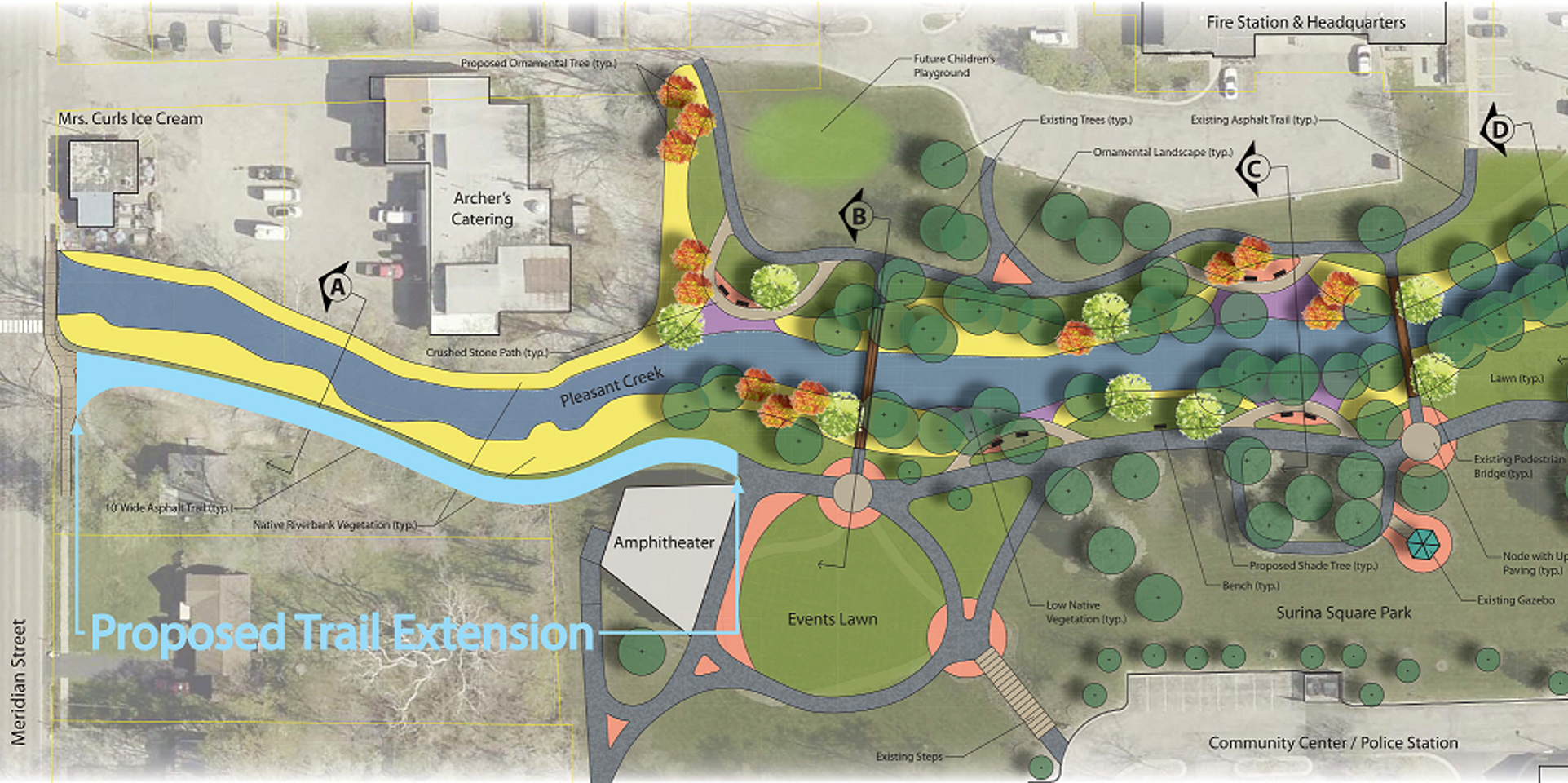 Pleasant Creek Trail Extension