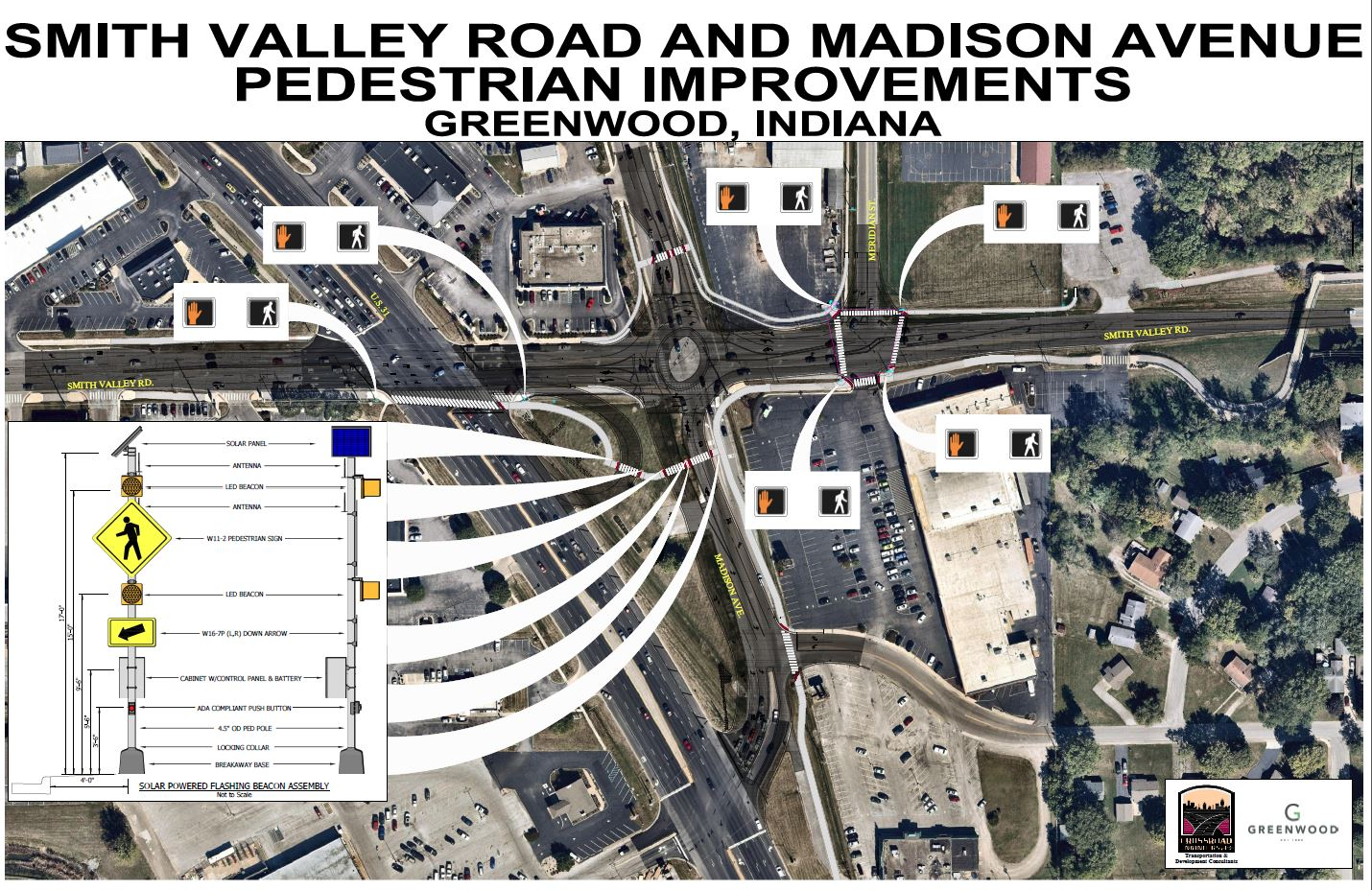 Smith Valley Road/Madison Avenue Pedestrian Improvements