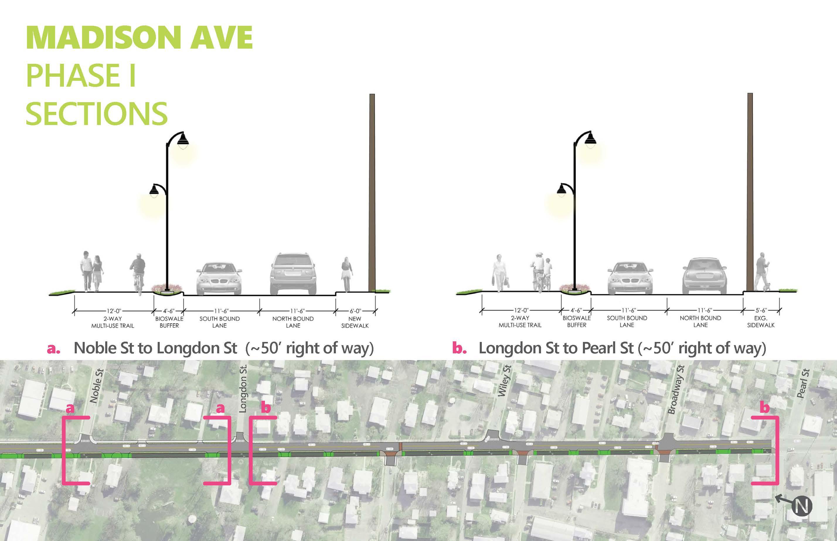 Madison Ave. Improvements - Phase One